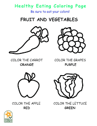 healthy food pyramid colouring pages coloring for preschool