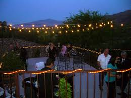 Cool Patio Lighting Ideas Diy Outdoor Lighting Ideas For A Wedding All Home Design Ideas