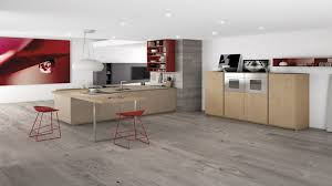 model kitchen set modern dark wood floors white cabinets grey wood tile floor modern