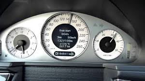 mercedes e klasse w211 e270cdi 0 180km h acceleration youtube