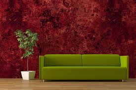 wall paint colour for living room with green furniture the