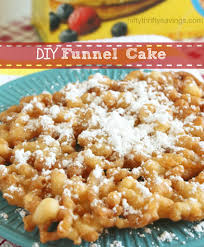 diy funnel cake nifty thrifty savings