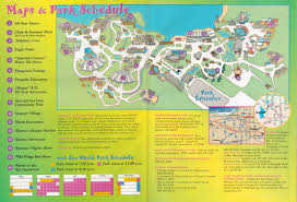Sea World Map Newsplusnotes From The Vault Seaworld Ohio 1998 Trip Planner