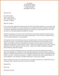substitute teacher cover letter examples teaching cover letter