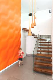 Hanging Stairs Design Floating Stairs And Glass Walls Embedded In Custom Staircase