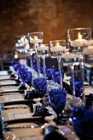cool black and blue table setting 37 upon home decor arrangement