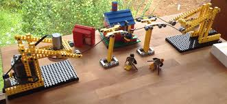 Chair Lifting Experiment Simple Lego Technic Chairlift Skilift R C Rally Track Lego