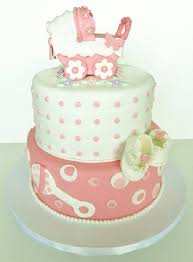 fondant baby stroller cake topper perfect for baby shower