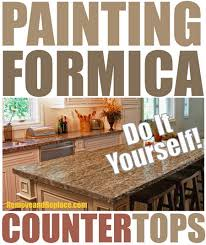 Can I Paint Over Laminate Kitchen Cabinets Painting Formica Countertops The Easy Diy Ways Diy Tips Tricks