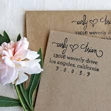 wedding invitations return address custom return address st wedding stationery