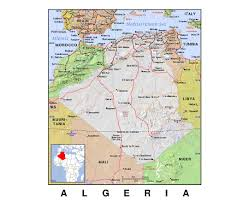 Map Of Sardinia Italy by Maps Of Algeria Detailed Map Of Algeria In English Tourist Map