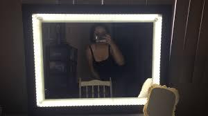 led vanity light strip awesome mirror with led light regarding strips for vanity design
