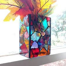 how to tea stain glass l shades shop stained glass candle holders on wanelo