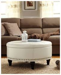 awesome round ottoman coffee table images gallery furniture