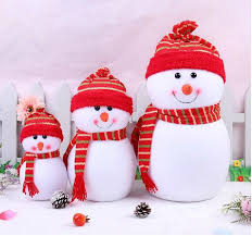 Outdoor Christmas Decorations Santa Claus by Outdoor Christmas Decochritmas Small Snowman With Colorful For
