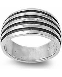 ring size mens great deals on sterling silver women s men s oxidized ring sizes
