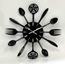 horloge de cuisine design pendule moderne cuisine top horloge murale moderne multicolore
