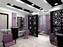 Vanity Case Beauty Studio Best 25 Home Salon Ideas On Pinterest Striped Walls Home