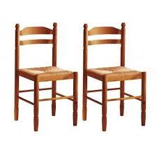 lot de 2 chaises jeanne hêtre massif assise pa achat vente