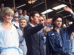 where does prince charles live live aid 25 years on live aid bob geldof and prince charles
