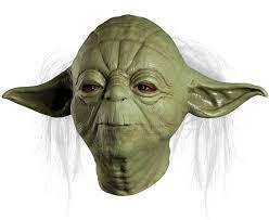horror masks halloween star wars yoda overhead latex mask halloween masks