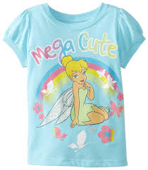 amazon disney girls u0027 tinkerbell shirt clothing