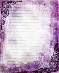 printable journal writing paper printable journal page swirls violet purple lined stationery zoom