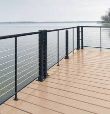 Outdoor Banisters And Railings Best 25 Cable Deck Railing Ideas On Pinterest Deck Railings