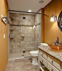redo small bathroom ideas bathroom remodeling small bathroom with brown plaid wall also