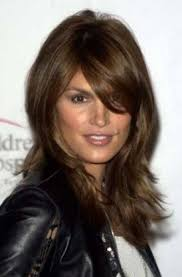 long hairstyles with bangs for women over 40 7 best cindy crawford hairstyles fantastic medium length