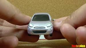 tomica mitsubishi rvr nissan march takara tomy tomica die cast car collection no 012