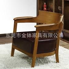 Armchair Cafe Style Retro Solid Wood Chair Cafe Hotel Casual Dining Chair