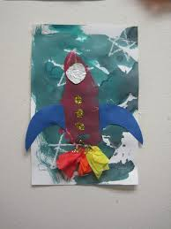 rocket ship art crafts for kids pinterest ship art rockets