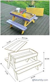 children s picnic table plans childs picnic table how to build a kids picnic table childrens