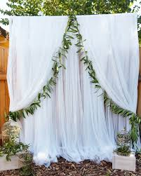 tulle backdrop backdrop pvc pipe with tulle rent a party