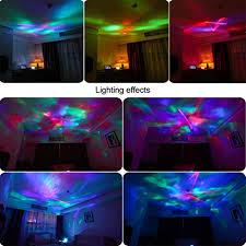 remote control bedroom l projector night light dpower remote control ocean wave projector 12