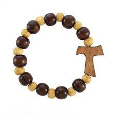 bracelet rosary tau cross rosary bracelet catholic e store