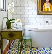 patterned tile bathroom vintage bathroom floor tile patterns flooring ideas floor vintage