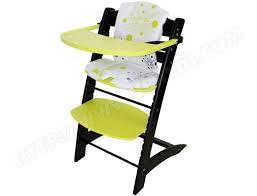 chaise volutive badabulle chaise haute évolutive badabulle b010009 noir et anis pas cher