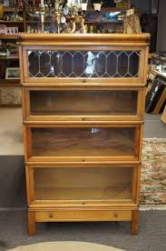 Oak Bookcases With Glass Doors Barrister Bookcases With Glass Doors Sakuraclinic Co
