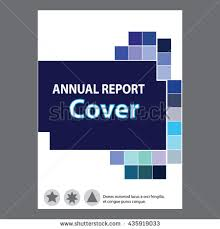 report cover page blue annual report title page sample cover page
