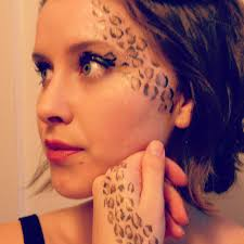 leopard halloween makeup ideas leopard print makeup