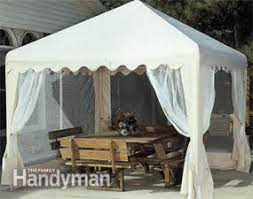 how to shade your deck or patio with a diy awning u2014 the family