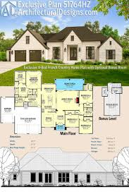 houses and floor plans country 1 floor house plans 4 bedroom luxihome