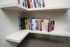 Floating Corner Desk by Fitted Floating Shelves Empatika