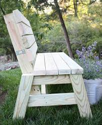 Simple Wooden Bench Design Plans by Best 25 Outdoor Benches Ideas On Pinterest Outdoor Seating