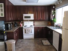 kitchen cabinet best red wood kitchen cabinets and with black