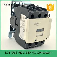 lc1 d65 m7c 63a ac contactor ac motor control contactor electrical