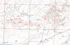 road map sle map of ah shi sle pah wilderness study area new mexico