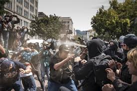 berkeley has become the place where political extremists come to